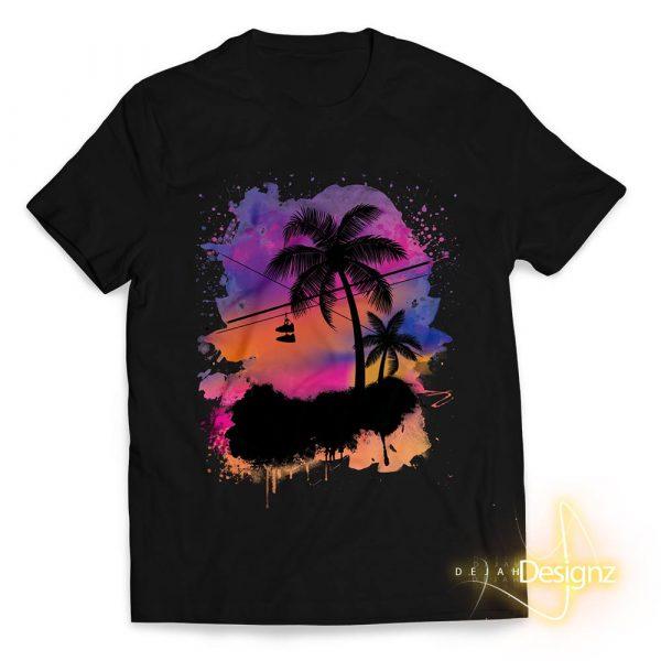 Compton Sunset - Black