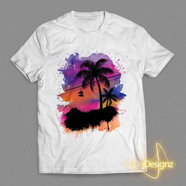 Compton Sunset - White
