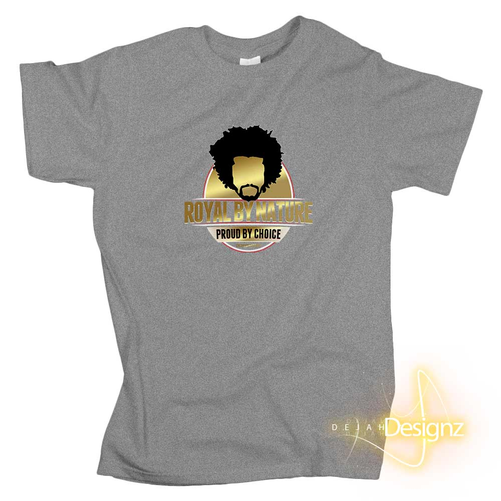Royal by Nature graphic t-shirt