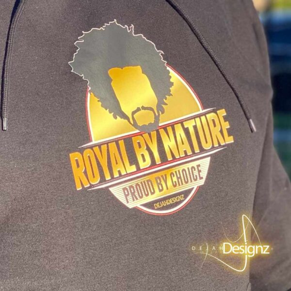 Royal by Nature Graphic Hoodie