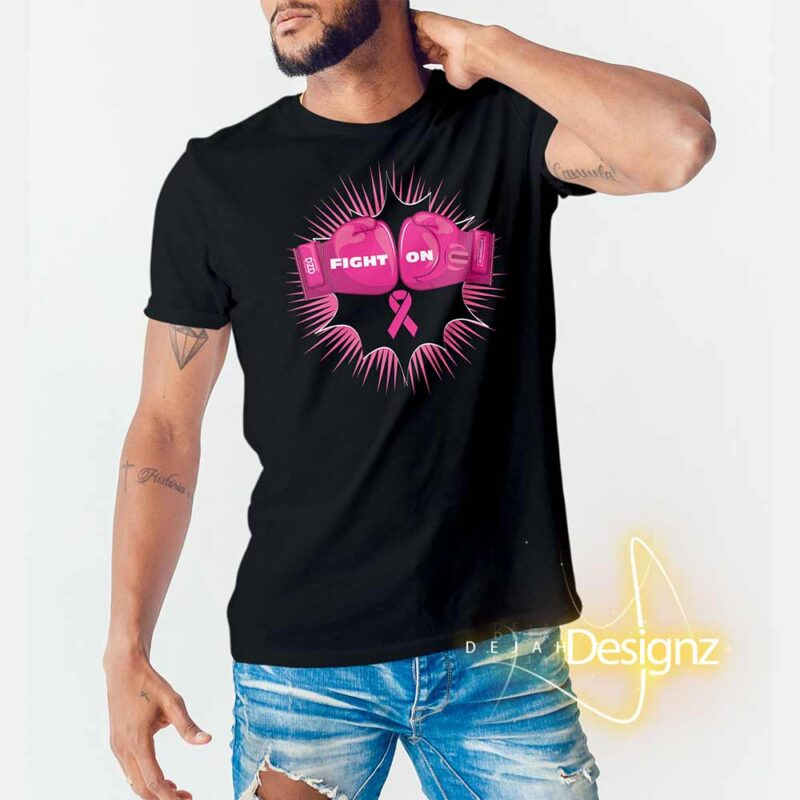 FIGHT ON Breast Cancer Awareness Unisex T-Shirt